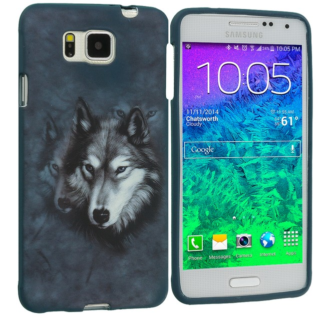 Samsung Galaxy Alpha G850 TPU Design Rubber Skin Case Cover