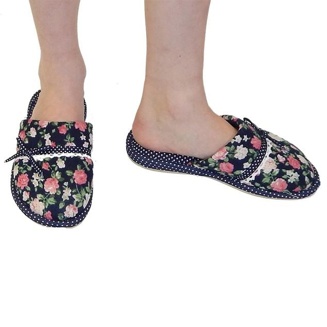 Women's Designer Roses Slippers