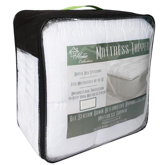 Hypoallergenic Down Alternative Mattress Topper