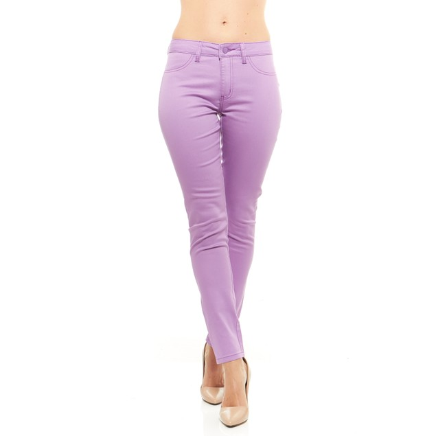 Red Jeans Women's Seamless Mid Rise Jeggings (Reg & Plus Sizes)