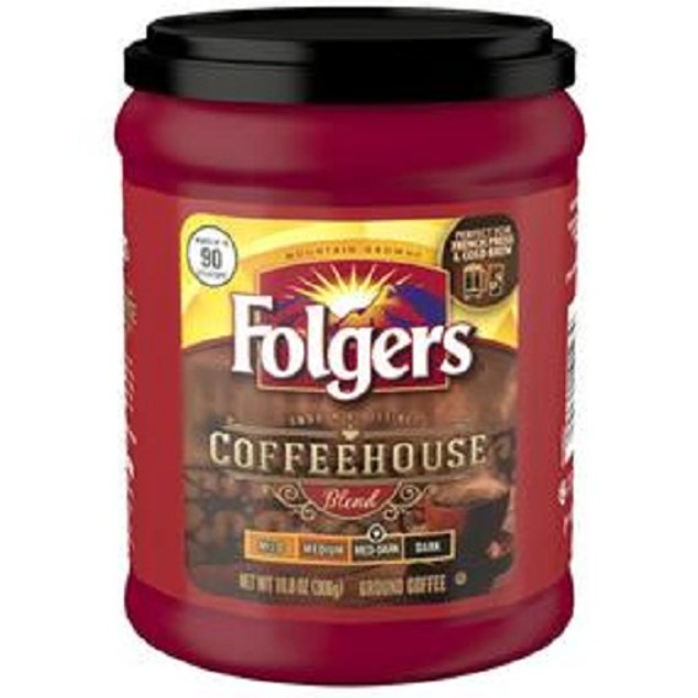Folgers Coffeehouse Blend Ground Coffee