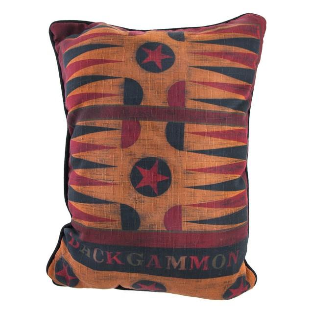 Backgammon/Parcheesi Decorative Throw Pillow Throw Pillows