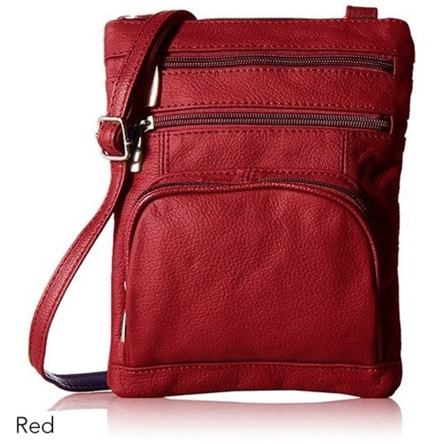 Super Soft Leather Crossbody Bag - 8 Color Choices