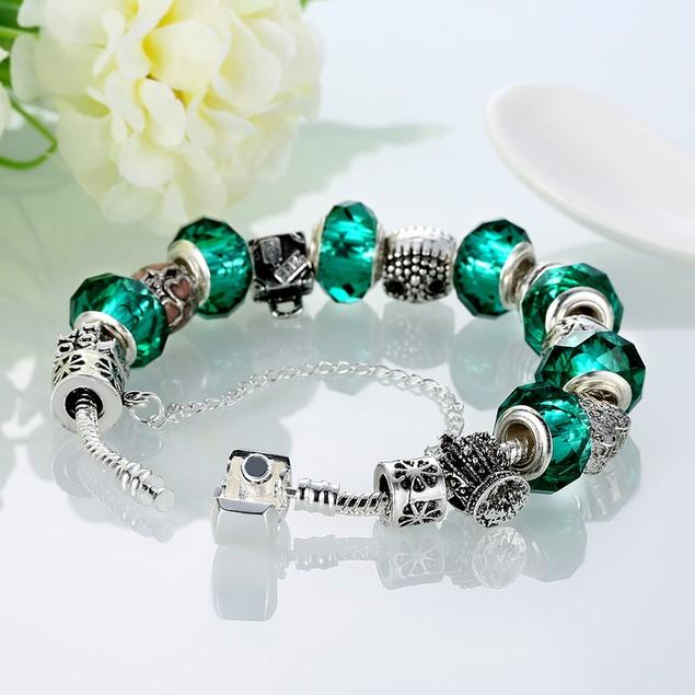 Green Meadows Designer Inspired Bracelet
