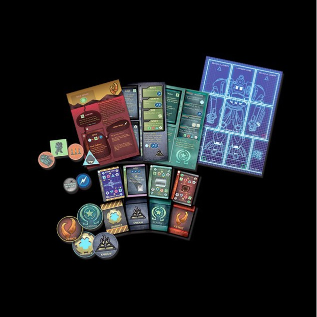 Ares Project Board Game