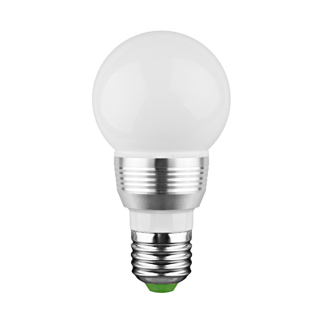 LED Remote Controlled Color Changing Light Bulb