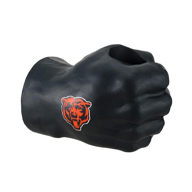 Chicago Bears Fan Fist Oversized Foam Fist Drink Cold Beverage Koozies
