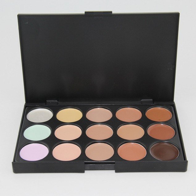 15 Color Face Cream Makeup Palette