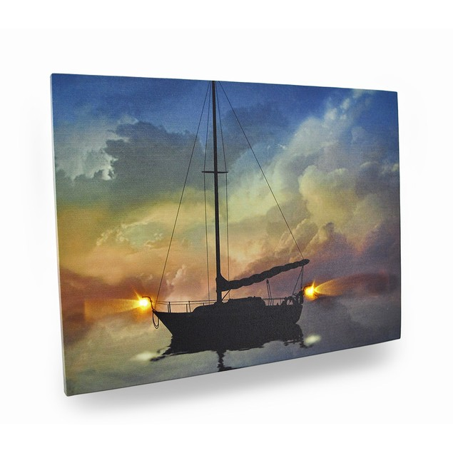 Guiding Light Flickering Light Led Nautical Canvas Prints