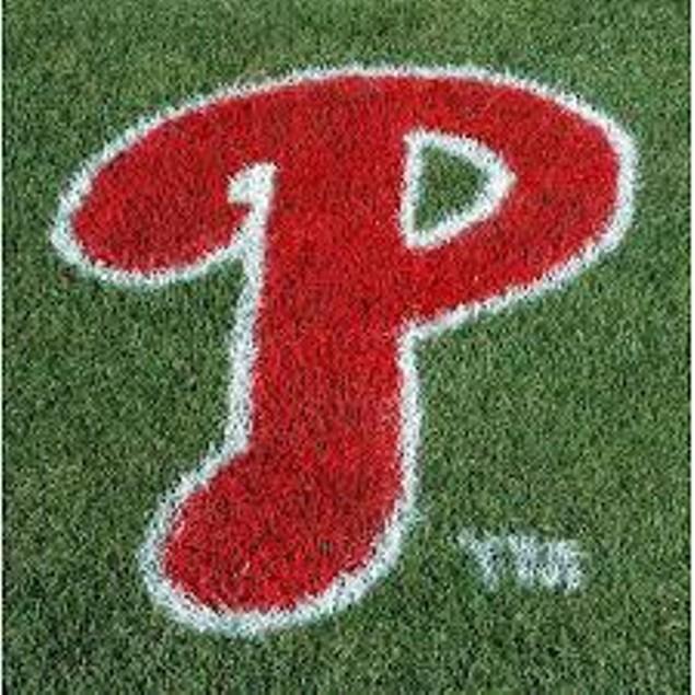 Mlb Philadelphia Phillies Lawn Logo Paint Stencil Sports Fan Stepping