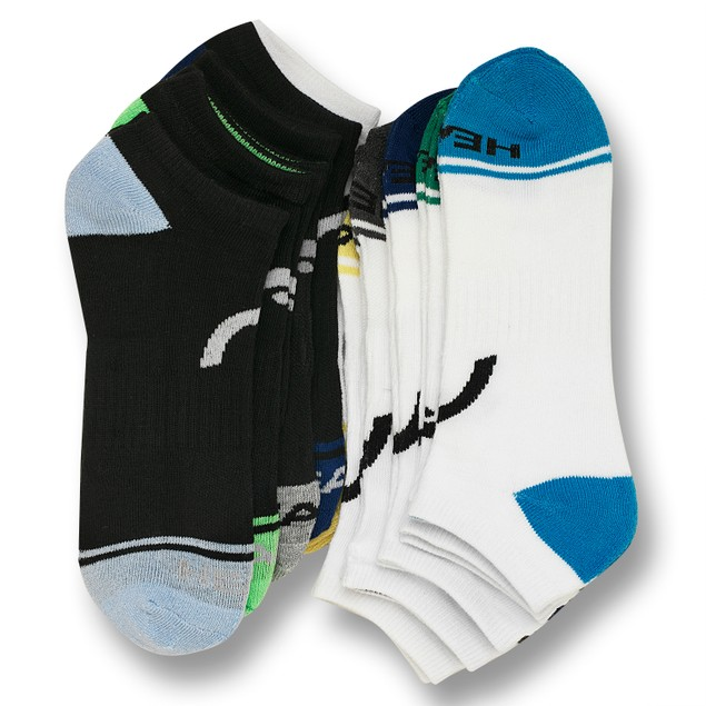 10 Pairs HEAD Men's Moisture-Wicking Socks