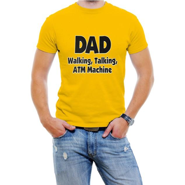 DAD Walking, Talking, ATM Machine Funny T-Shirt
