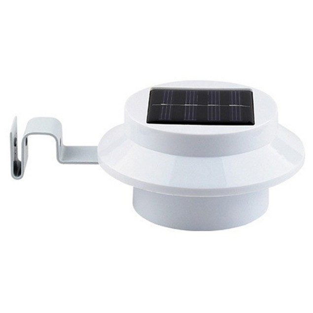 2-Pack Solar Power LED Wall with Bracket