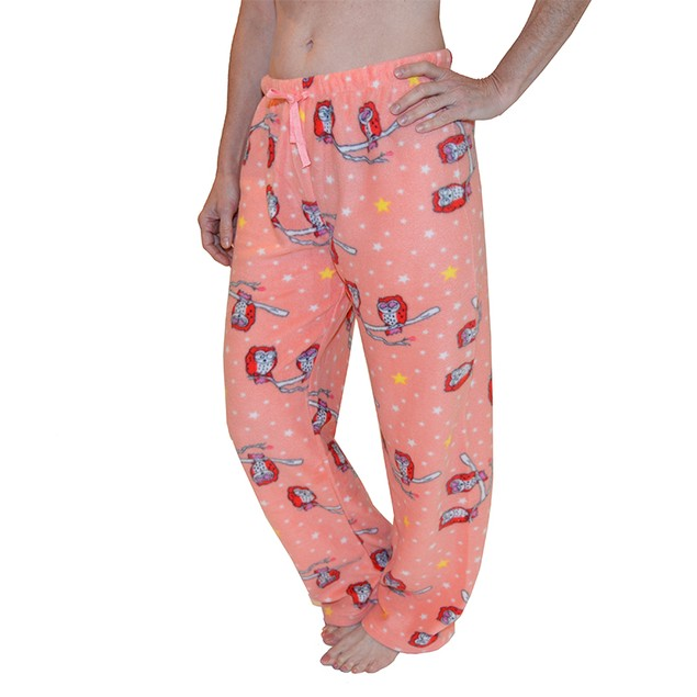 2 Pack: Soft & Cozy Ladies Fleece Pajama Pants
