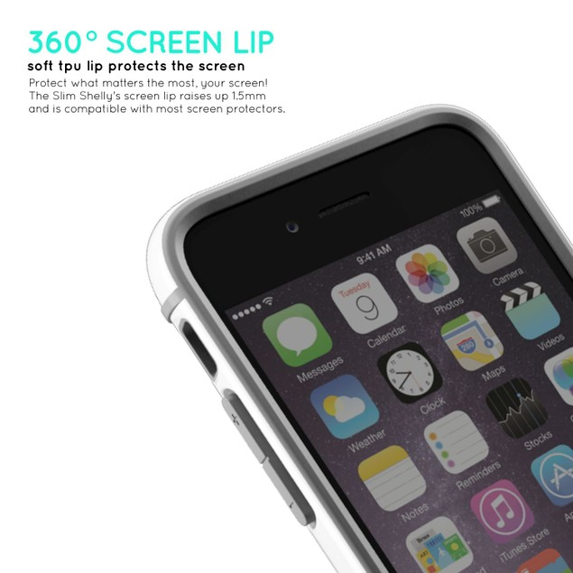 iPhone 6s Laza Dual Layer Showoff Slim Fit Case