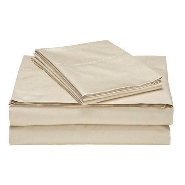 4-Piece Set: Ultra-Soft 1800 Series Double-Brushed Sheets