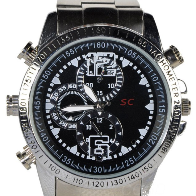 8GB Camera Spy Watch with Built-In Microphone
