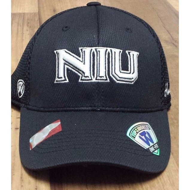 "Northern Illinois Huskies NCAA TOW ""Fairway"" Stretch Fitted Hat New"