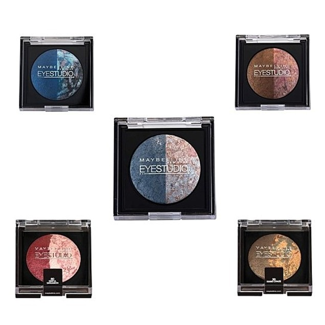 5 Pack Maybelline Color Pearls Marbleized Eye Shadow