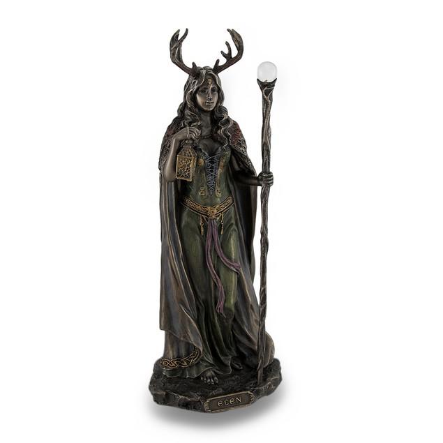 Elen Of The Ways Bronze Finish Statue Pagan Statues