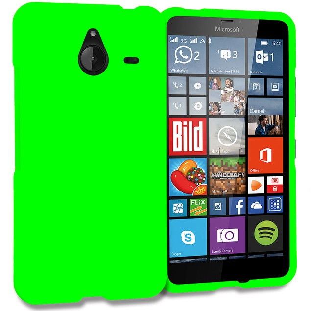 Nokia Lumia 640 XL Hard Rubberized Case Cover
