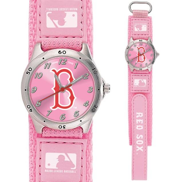 Gametime MLB Future Star Youth Pink Watch  - Boston World Series Champions