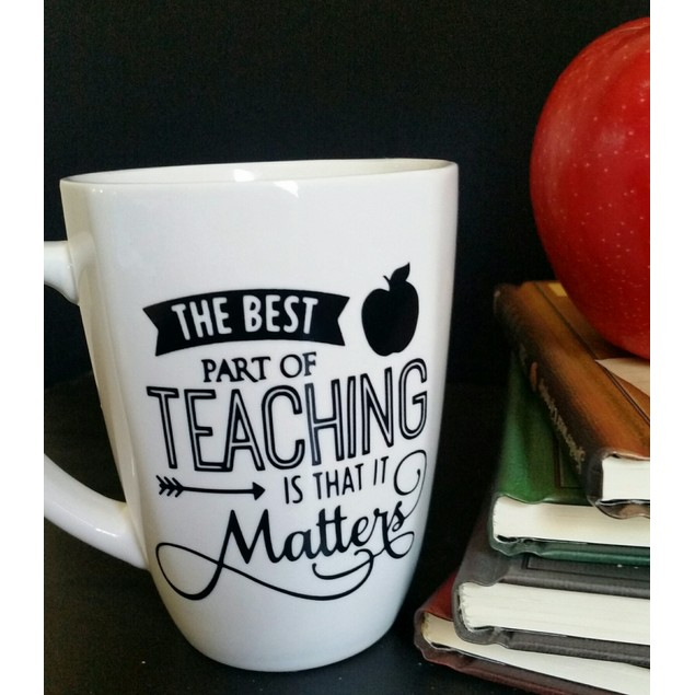 Personalized Best Part of Teaching Mug