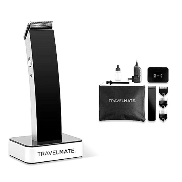 TravelMate Rechargeable Modern Matte Finish Hair Clipper Kit