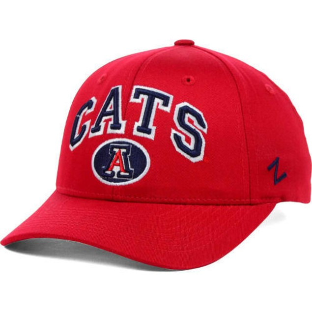 "Arizona Wildcates NCAA Zephyr ""Cats"" Snapback Hat"