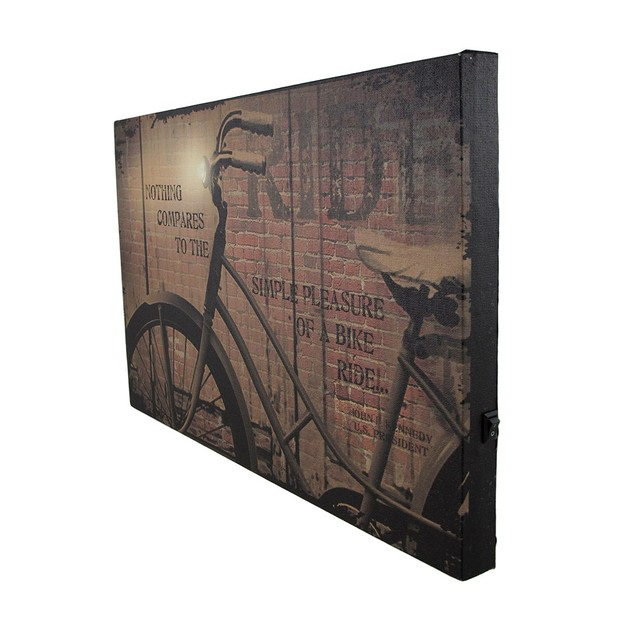 Nothing Compares To A Bike Ride Led Lighted Canvas Prints