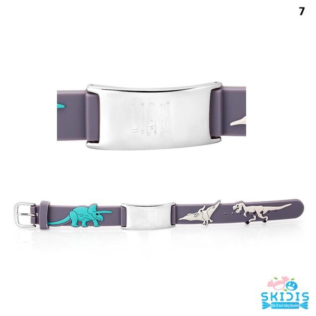 Skidis Personalized Kids ID Bracelets - 36 Styles