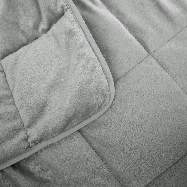 Weighted Blanket: Reversible Mink Plush (15lb & 20lb Options)