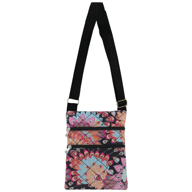 Olivia Moss Quilted Cross-Body Bag