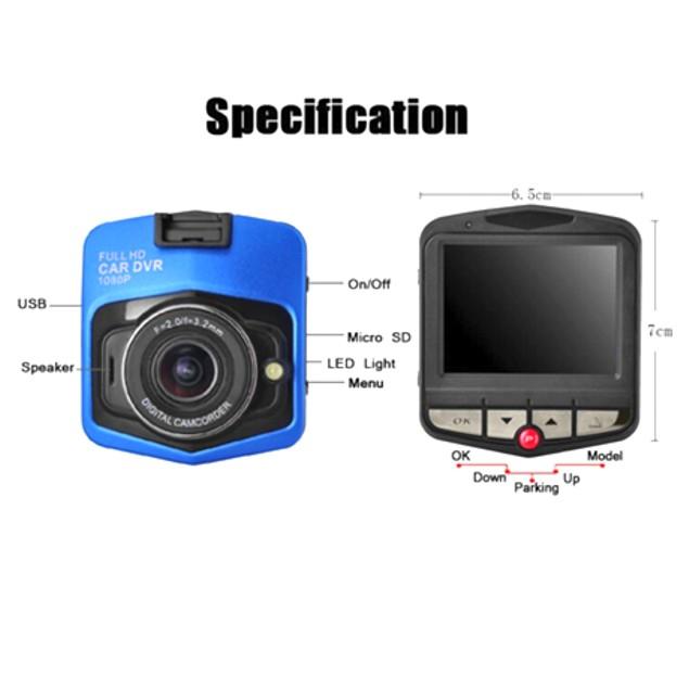 Mini GT300 Full 1080p HD DVR Dash Camera with Night Vision