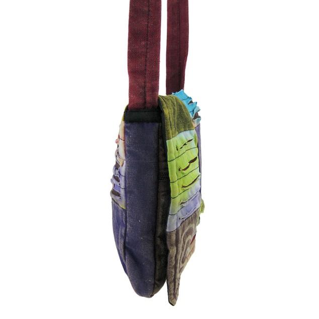 Cute Cotton Padded Patchwork Crossbody Bag Razor Womens Cross Body Bags