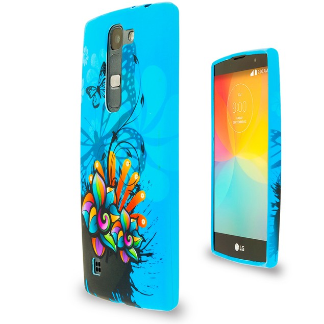 LG Escape 2 TPU Design Rubber Skin Case Cover