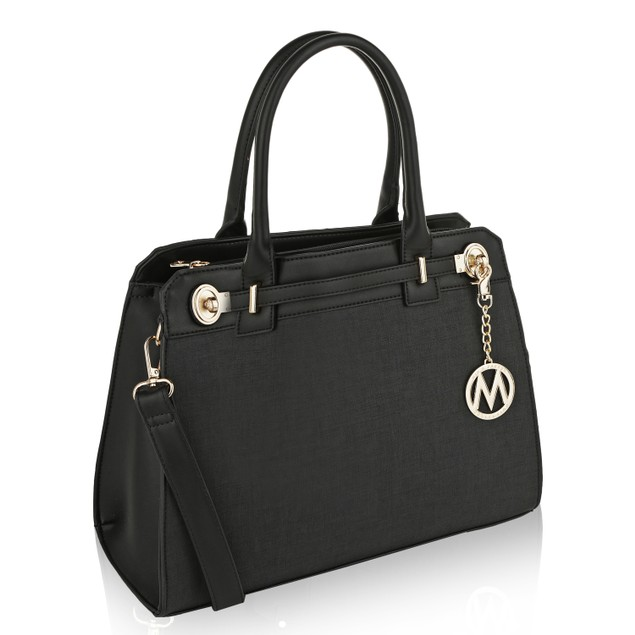 MKF Collection Nina Fashion Satchel Bag by Mia K. Farrow