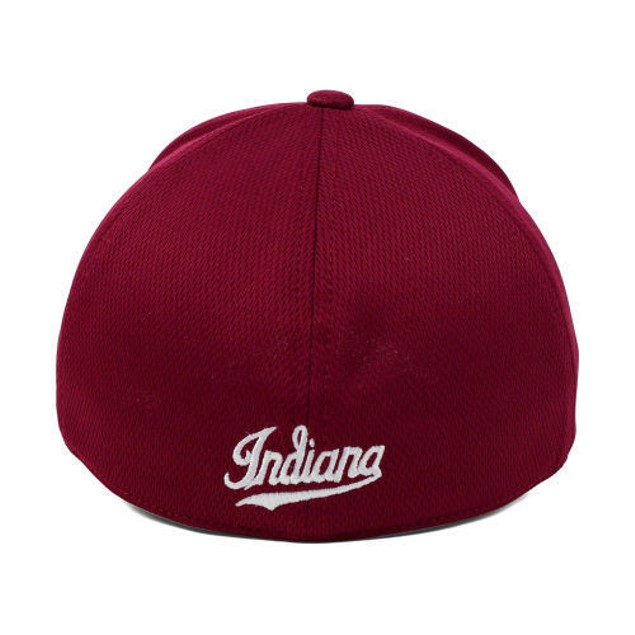 """Indiana Hoosiers NCAA TOW """"Booster"""" Memory Fitted Hat"""