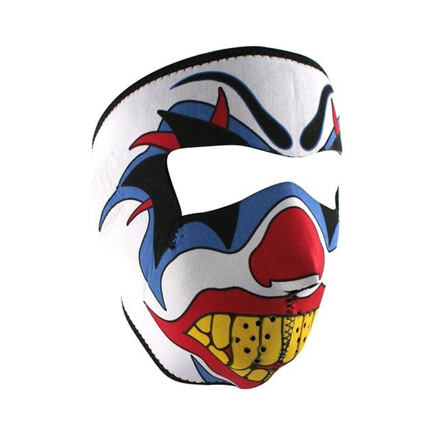 Clown Graphical Neoprene Full Face Mask
