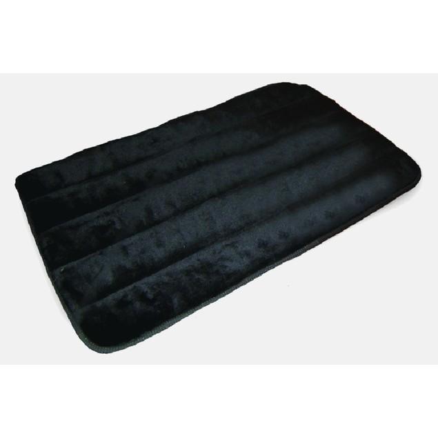 2-Pack Quilted Pet Rug - Black