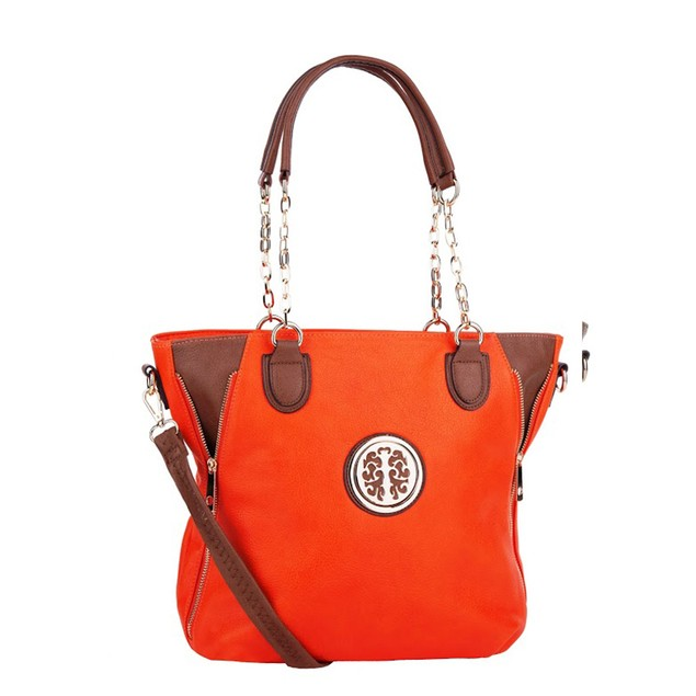 MKF Collection Jules Colorblock Tote by Mia K Farrow