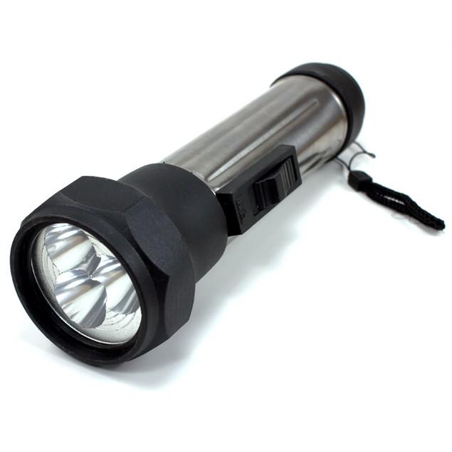 """7"""" 3-LED Flashlight"""