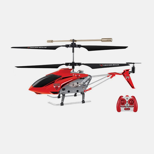 NBA Licensed Chicago Bulls RC Helicopter