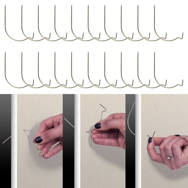 Hang-It-Up Super Hooks - Pack of 20 - Like Hercules Hooks