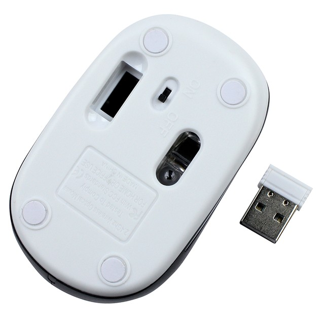 Mini 2.4 GHz Wireless Optical Computer Mouse