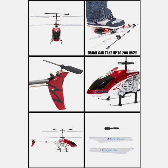GYRO Hercules Unbreakable 3.5CH Electric RTF RC Helicopter