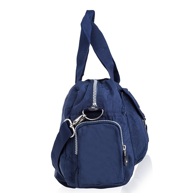 Suvelle Nylon Water-Resistant Go-Go Crossbody Bag