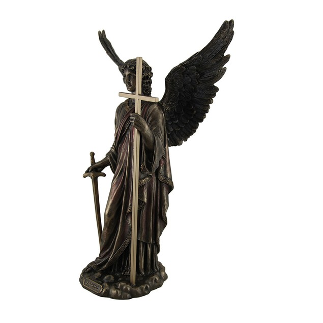 Zadkiel Archangel Of Freedom & Mercy Standing Statues