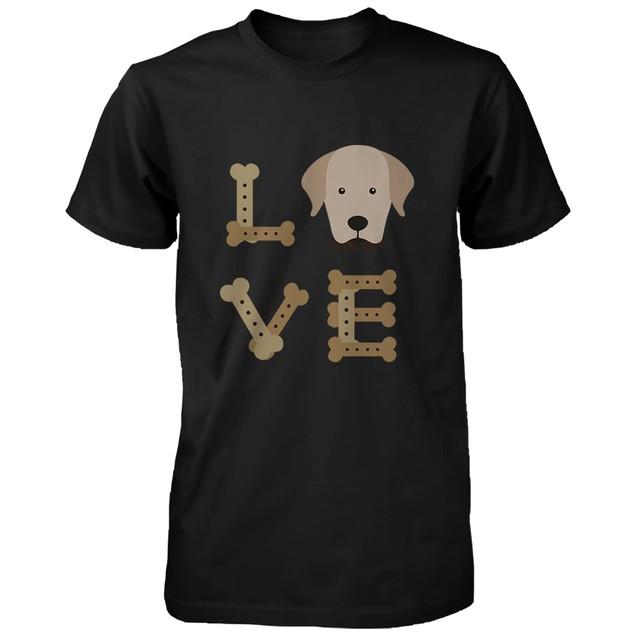 Golden Retriever LOVE Men's Shirt Cute Gifts Ideas for Retriever Dog Owner