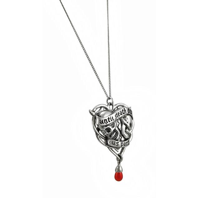 Anne Stokes Carpe Noctum `Spondeo` Soul Mate Womens Pendant Necklaces